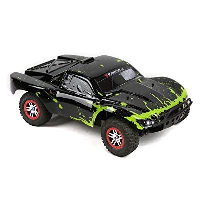 SummitLink Compatible Custom Body Muddy Green Over Black Replacement for 1/10 Scale RC Car or Truck (Truck not Included) SS-BG-01: Toys & Games