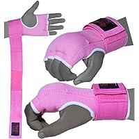BOOM Prime - Guantes de Gel para Mujer, Color Rosa, Acolchados, para Artes Marciales