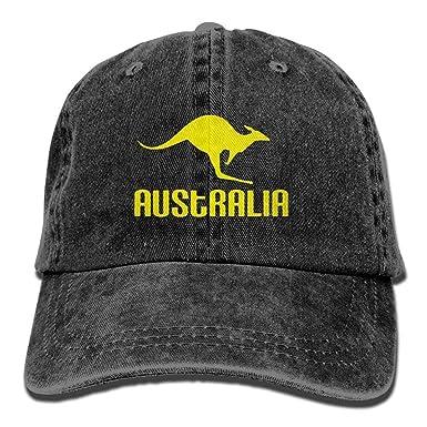 SOTTK Hombre Mujer Gorras de béisbol, Australia Kangaroo Proud ...