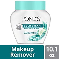 Pond's Cold Cream Make-Up remover Cucumber 10.1 oz (Packaging may vary)​ (Pack of 3)