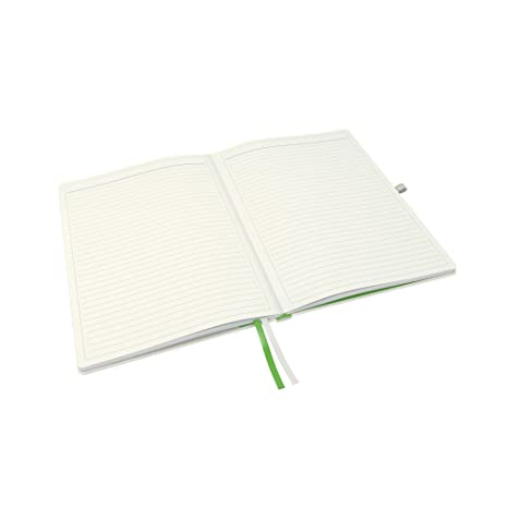 192 Pages Quality Lined Paper Silvine A4 HardBack Casebound NoteBook