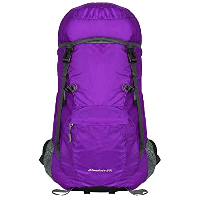 on sale SKYLE 35L Lightweight Water Resistant Travel Hiking Backpack Foldable Packable Hiking Daypack