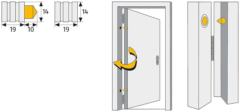 ABUS 6241 Sistema de seguridad para el hogar