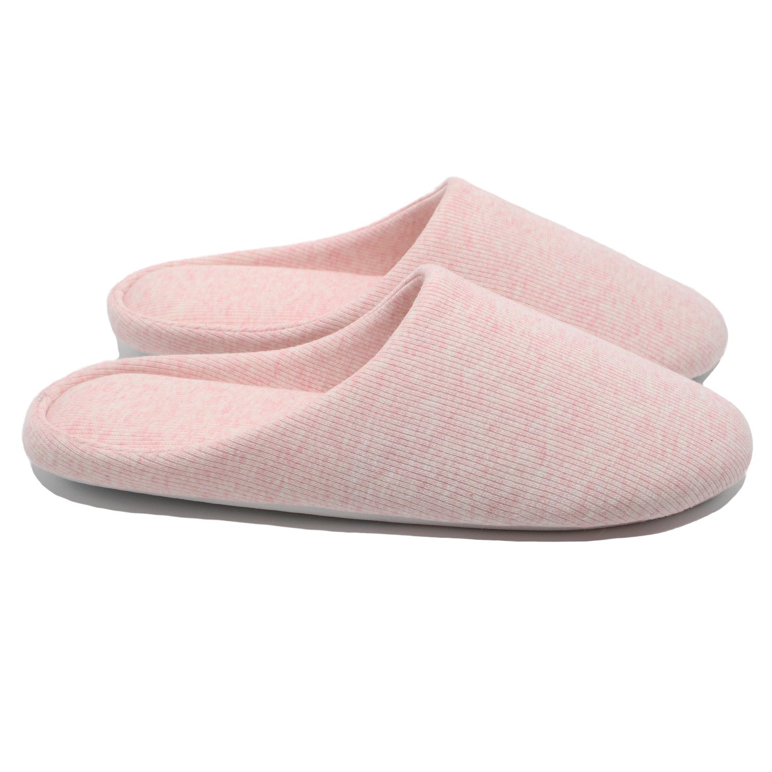 Ofoot Women's Cotton Memory Foam Washable Anti-Slip Indoor Slippers by Ofoot