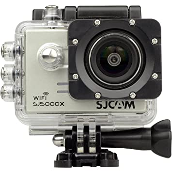SJCAM SJ5000X Elite Camera deportiva Gris 4K WiFi 12MP Gyro Sensor SonyIMX078
