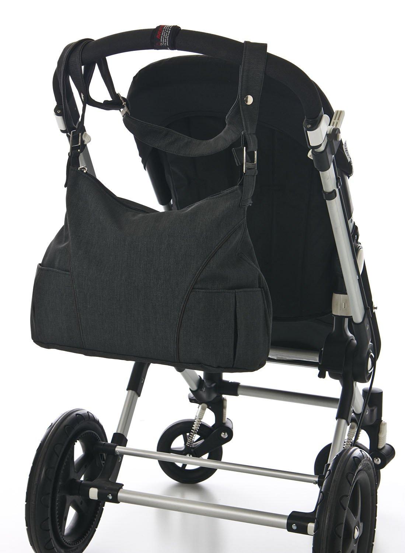 BOLSO Maleta + Cambiador de ¡REGALO!. Un bolso con BOLSILLOS interiores y confortable ASA con broches para llevar al hombro y sujetar al carro. Bolso maternidad. BEBELOVERS, KOKETES, MOBIBE