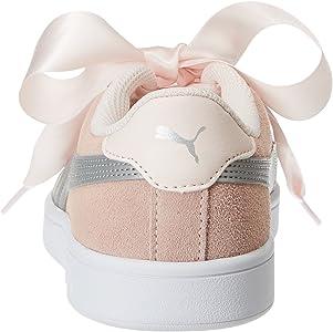 puma smash v2 ribbon jr scarpe da ginnastica basse bambina
