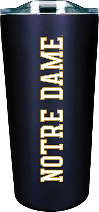 Navy Design-6 The Fanatic Group Notre Dame Double Walled Soft Touch Tumbler
