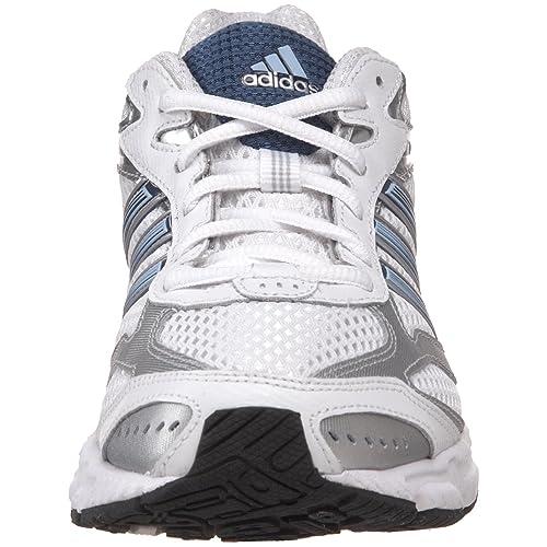 Amazon.com | adidas Womens Duramo 3 Running Shoe, Running White/Vision Blue/Metallic Silver, 8 M US | Road Running