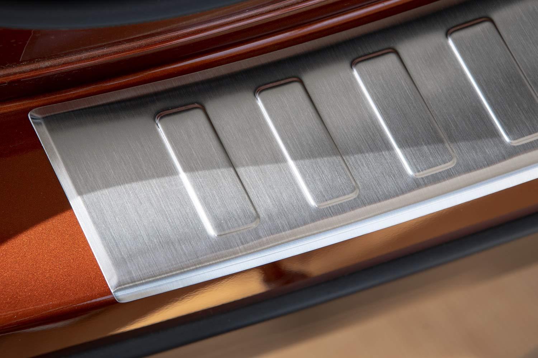 Tuning-Art 941 Protezione paraurti in Acciaio Inox con Profilo 3D e Bordi arrotondati