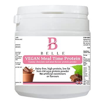 Amazon.com: Belle® Vegan Meal time Soya Protein Powder ...