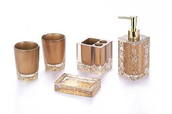 bronze bathroom accessory set complete gold bathroom accessories chrome for bathroom powder room