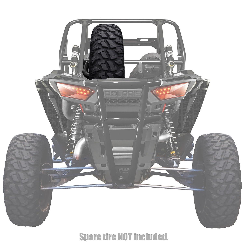 Clamp on Spare Tire Rack/Mount for Polaris RZR XP1000 2014-UP 50 Caliber Racing
