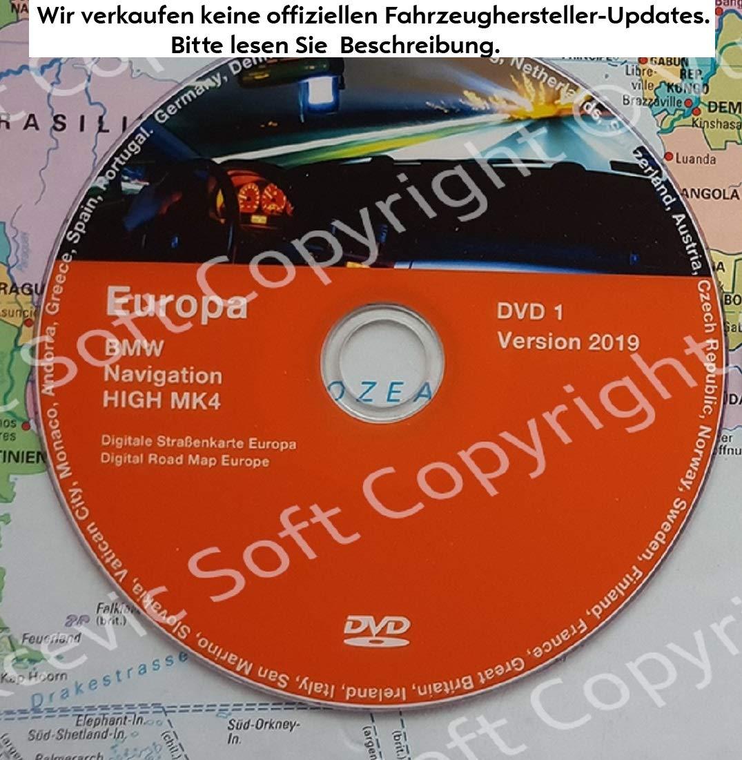 2019 BMW High Navigation MK IV DVD1