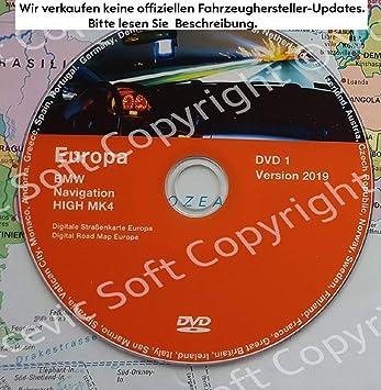 2019 BMW High Navigation MK IV DVD1 + Update V32 2019: Amazon.es: Electrónica
