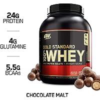 Optimum Nutrition 欧普特蒙 金标乳清蛋白营养粉 麦芽巧克力味 5磅(2.27千克)