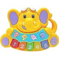 Amitasha Animal Sound Piano Musical Toy for Kids - Multicolour