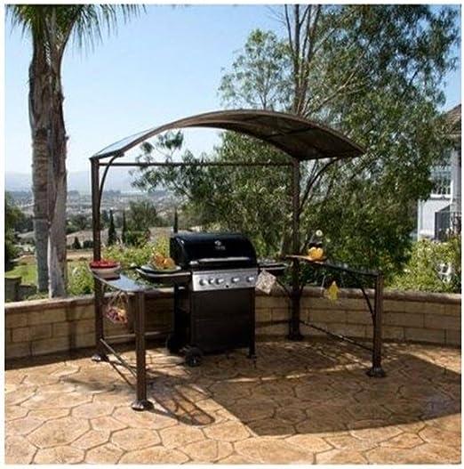 Better Homes & Gardens Gazebo pequeño Patio Metal Curvado Hardtop ...