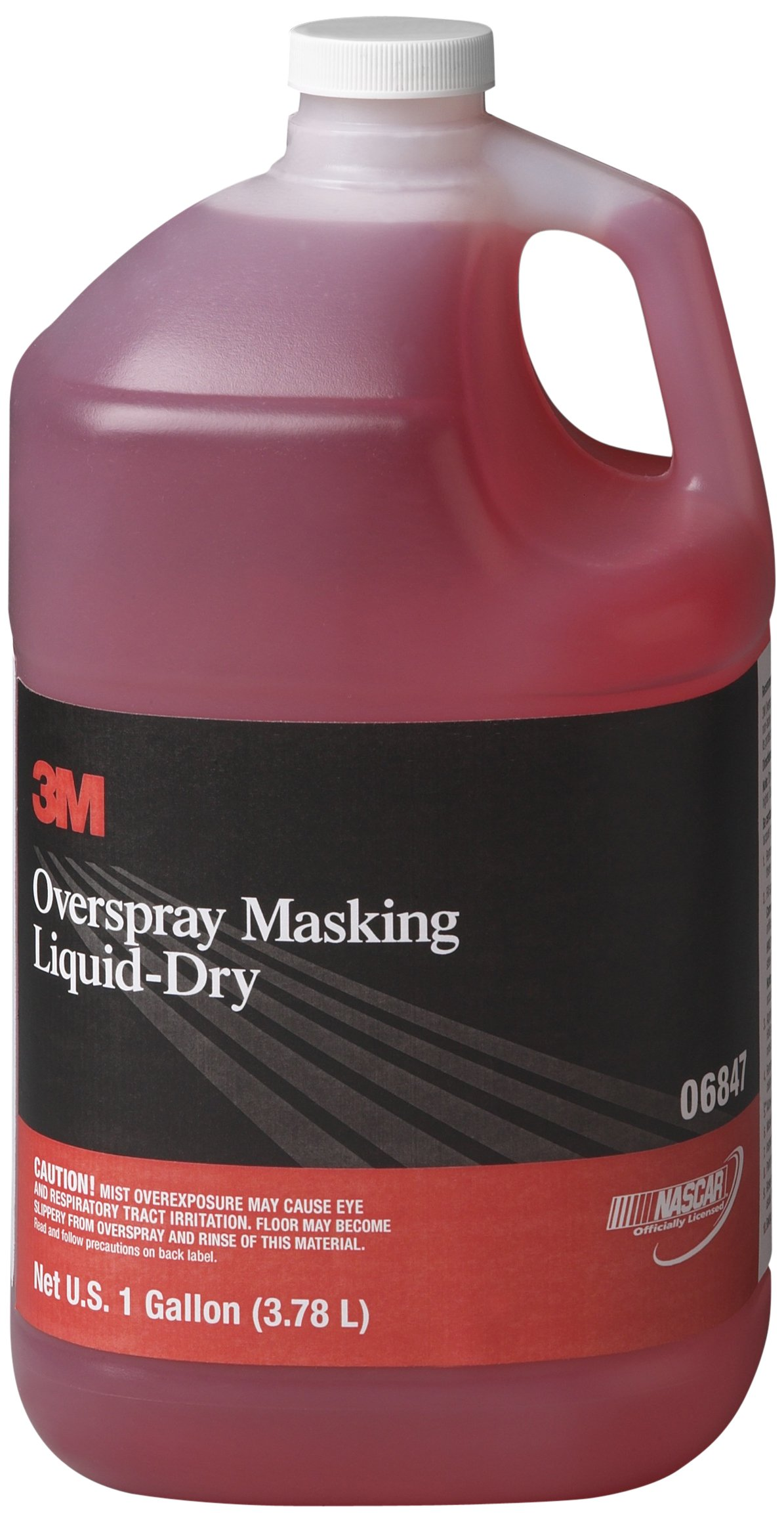 3M 06847 Overspray Masking Liquid-Dry - 1 Gallon by 3M