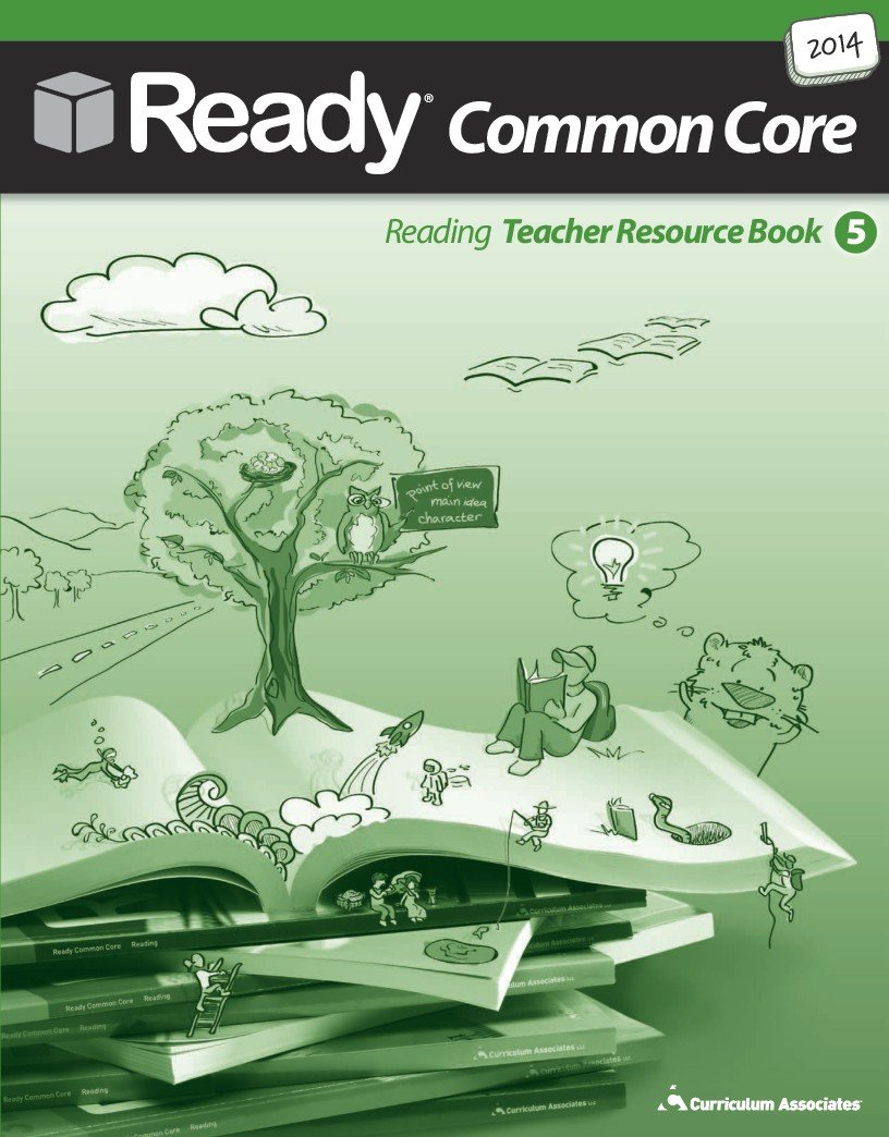 Read Online New Hampshire 2015 Grade 5 Common Core Teacher Resource Book for ELA/Reading PDF