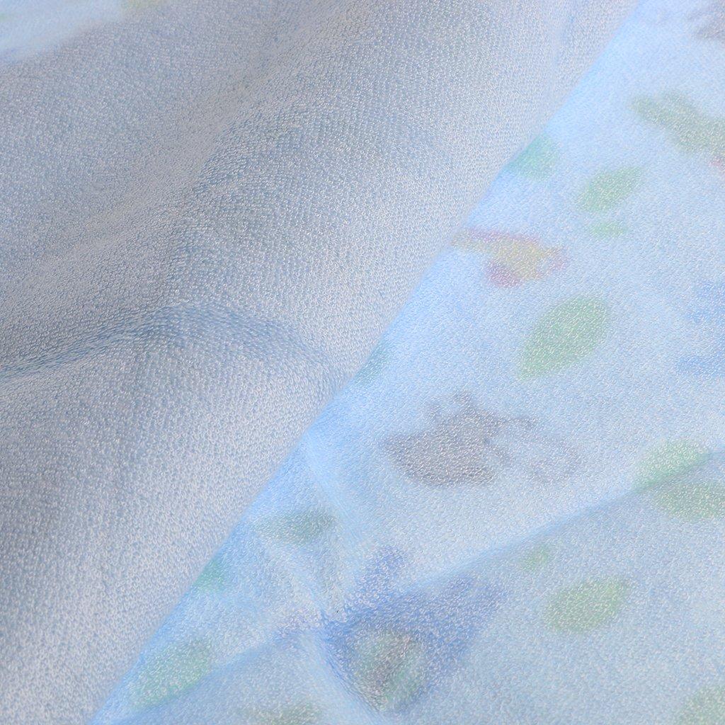 Magideal Bambus Baumwolle Wickeltischauflage Stoff Wickelauflage