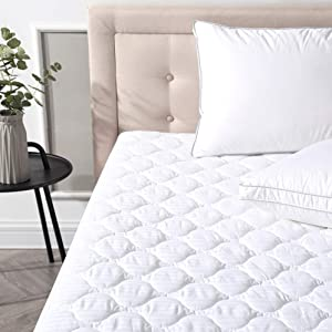Classic Brands Defend-A-Bed Deluxe Quilted Waterproof Mattress Protector, Twin