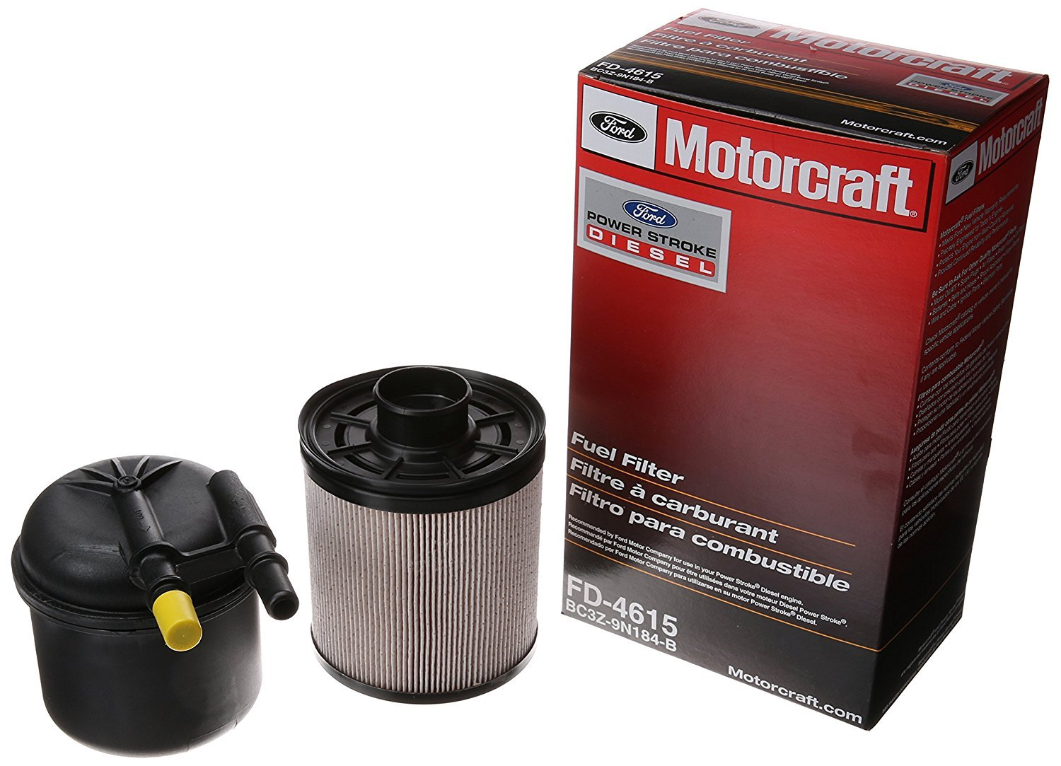 Motorcraft Fd 4615 Fuel Filter Automotive On 99 F250 Powerstroke