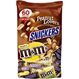 MARS Chocolate Peanut Lovers Fun Size Candy Variety Mix 36.7-Ounce 60-Piece Bag