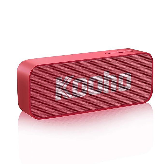 124 opinioni per Altoparlante Bluetooth, KOOHO S7 Speaker Portatile Senza Fili con Microfono