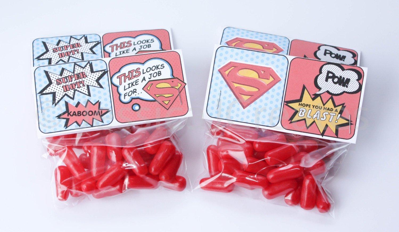 Sweet Cones Kit Superhero Superheroes Birthday Party