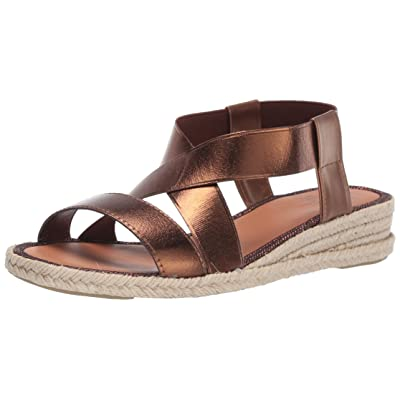 Aquatalia Women's Maggie Calf/Elastic Sandal | Platforms & Wedges