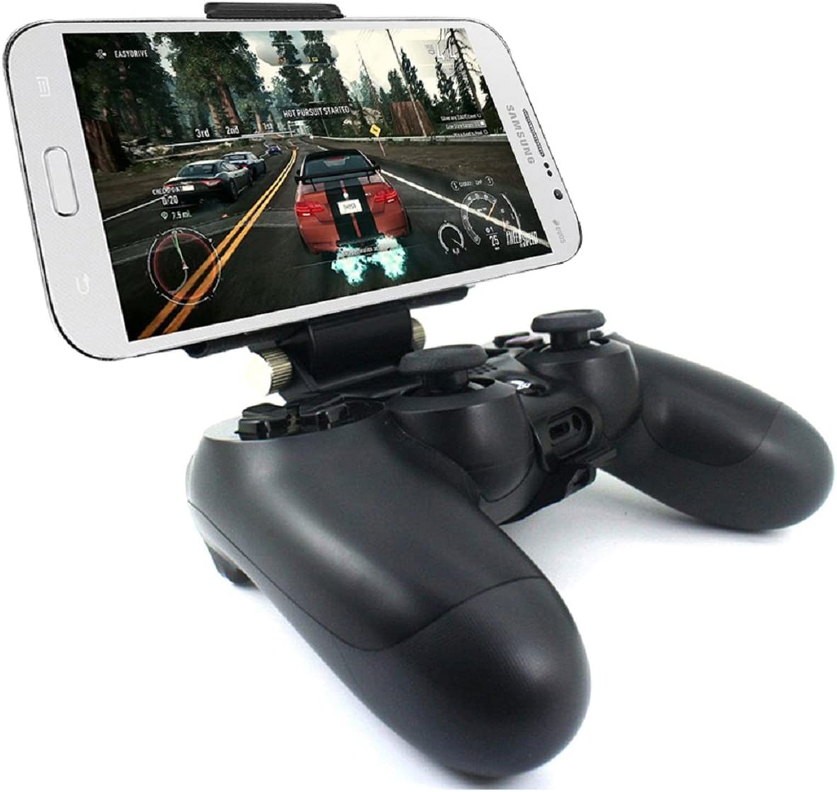 Amazon Com Megadream Ps4 Controller Phone Holder Clip For Sony Playstation 4 Ps4 Pro Slim 180 Degree Adjustable Mount Stand Android Samsung Galaxy S9 S8 S7 Note 9 8 Htc One Lg Sony