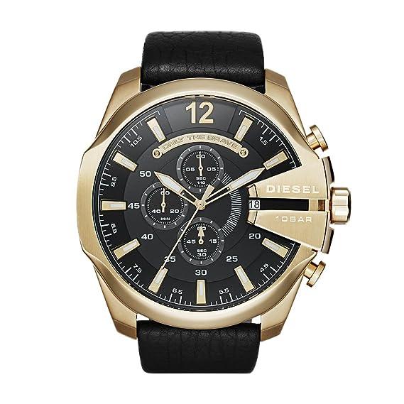 724481b2a201 Diesel DZ4344 Reloj Mega Chief