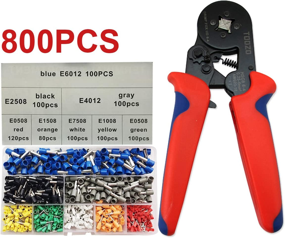 0.25-6mm²  Sleeve-type Terminal Crimping Tool Bootlace Ferrule Crimper Wire End