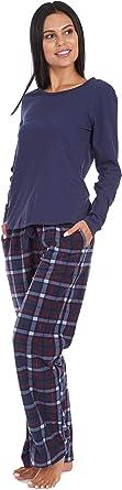 Cherokee Womens Soft Pajama Shirt and Pants Set Pajama Set