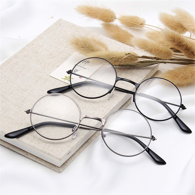 Round Sunglasses Women Mirror Vintage Round Cat Eye Sunglass Female Lady c10-silver-white