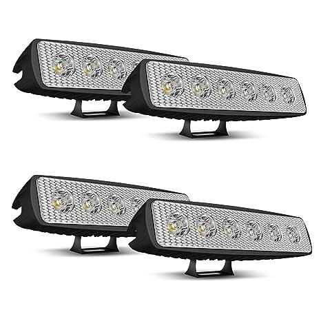 4X 18W Arbeitsscheinwerfer Led Offroad Scheinwerfer Auto SUV 12V 24V Leuchten