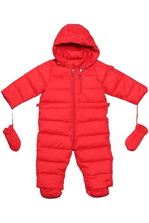 Oceankids Tuta monopezzo / tuta da neve / da passeggino con cappuccio, da bambina 0-24 Mesi OC14221021PK3M