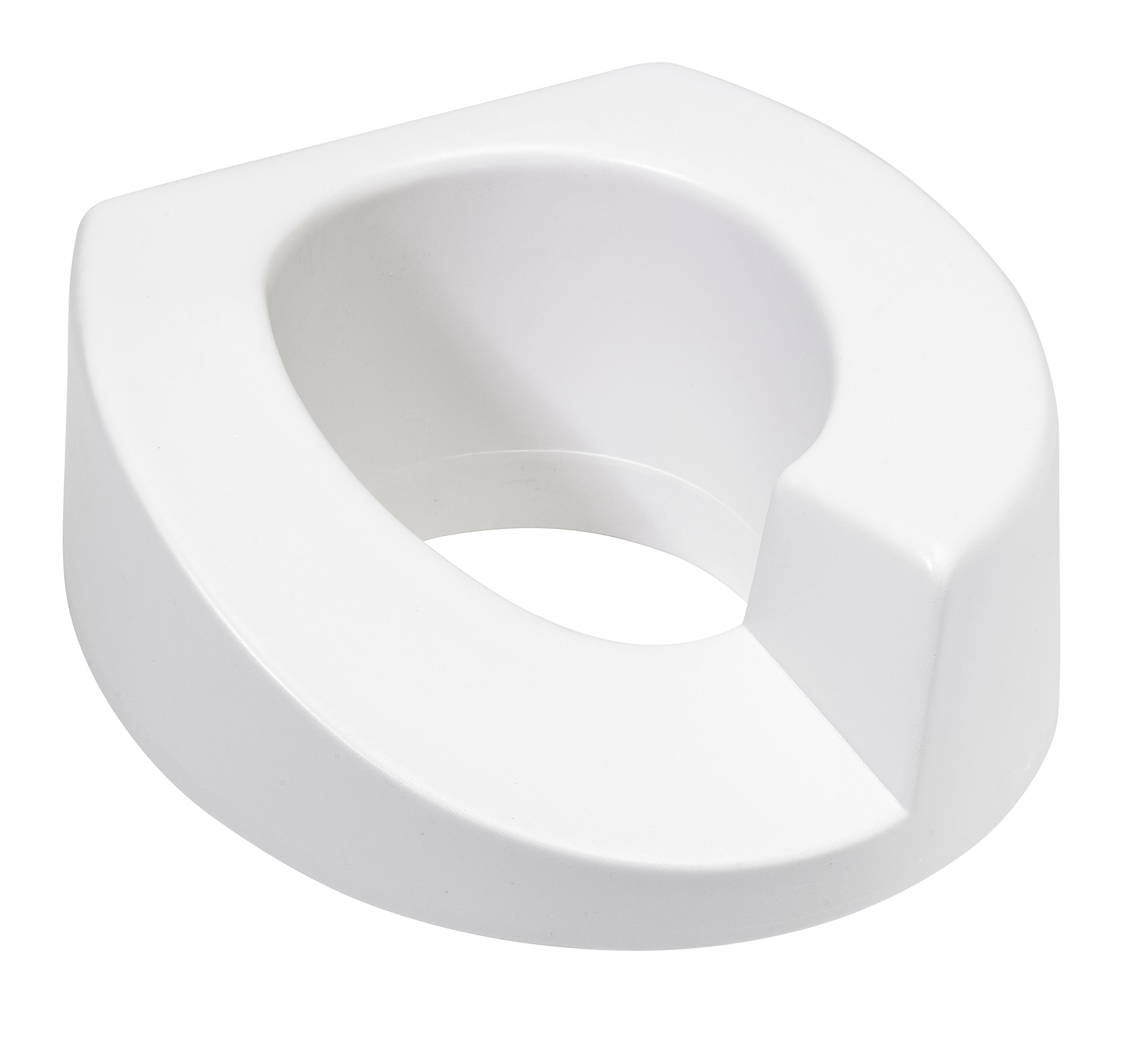Maddak Elevated Toilet Seat, Right Cutout by Maddak Inc.