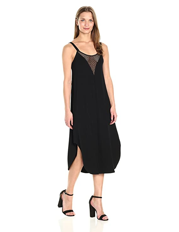 Only Hearts Womens So Fine Crochet Trim Slip Dress, at Amazon Womens Clothing store:
