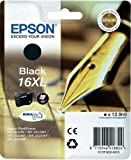 Epson T1631 Cartucho XL Negro WF-2010/2510/2520/2530/2540