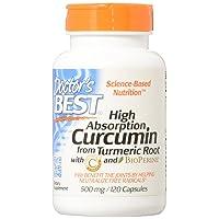 Doctor's Best Best Curcumin with Bioperine 120 caps