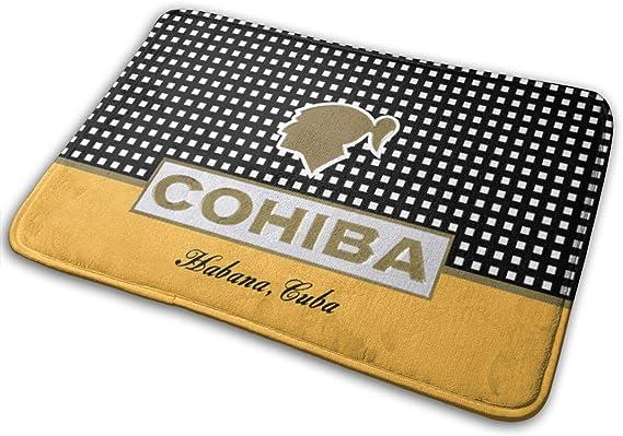 Towilliamsnya Easy Clean Doormats Cohiba Cigars Outdoor Mats with 15.7 X 23.6 Inches Doormat