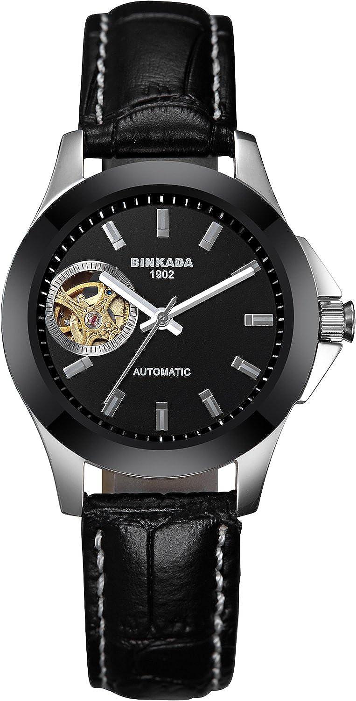 BINKADAクラシック自動機械ブラックダイヤルレディース腕時計# 7003 W02 – 1 B00Y7KBKI0