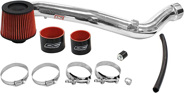 DC Sports CAI4402 Scion tC Polished Cold Air Intake System with Filter and Installation Hardware