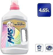MAS Mas Bebé Detergente Líquido (4.65l), Pack of 1