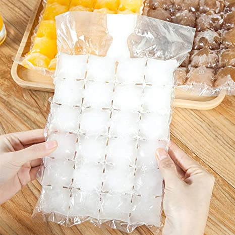 Amazon.com: 10pcs / Pack Bolsas desechables para hacer hielo ...