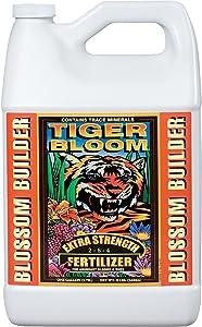FoxFarm 791090255653 FX14020 1-Gallon Tiger Bloom Fertilizer 2-8-4, White
