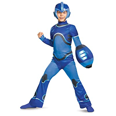 Disguise Megaman 3-D Boys' Costume: Toys & Games