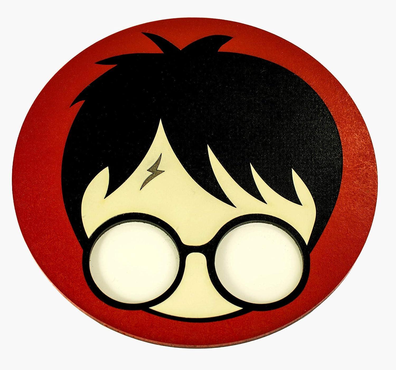 Tapete base protectora para cachimba fabricado en 3D - Modelo: Cicatriz Harry Potter 3D Sapiens